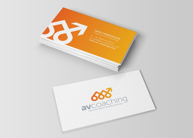 AV Coaching // Logo & Branding Design 2