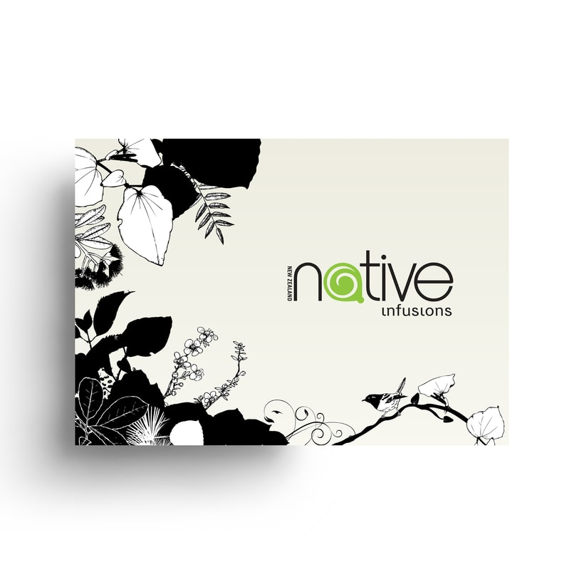 Native Infusions // Logo & Branding Design 0