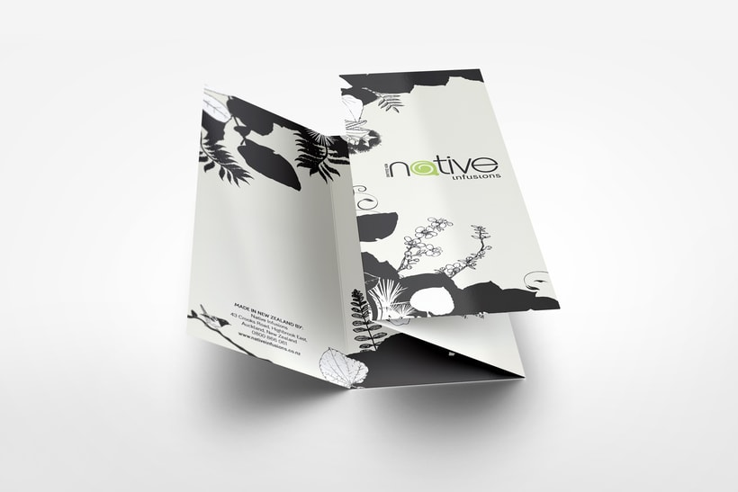 Native Infusions // Logo & Branding Design 3