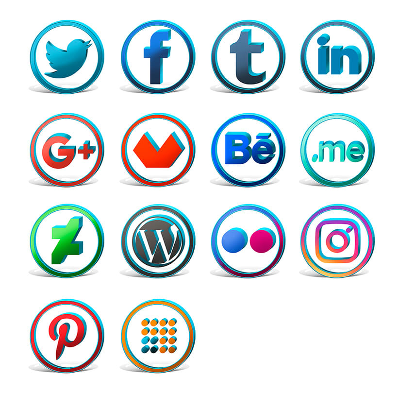Iconos sociales 1