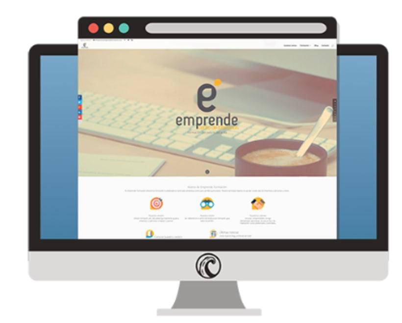 Web Centro Emprende Formación 0