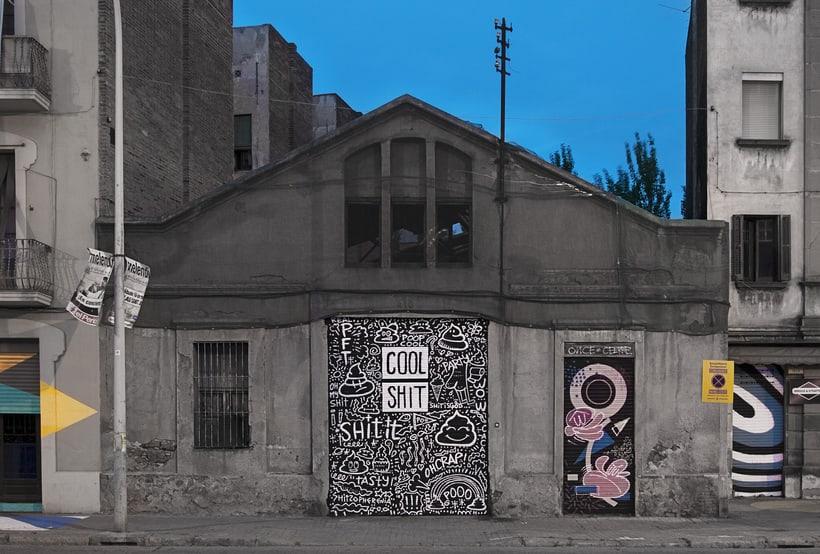 Arquitectura & Arte urbano en Barcelona -1