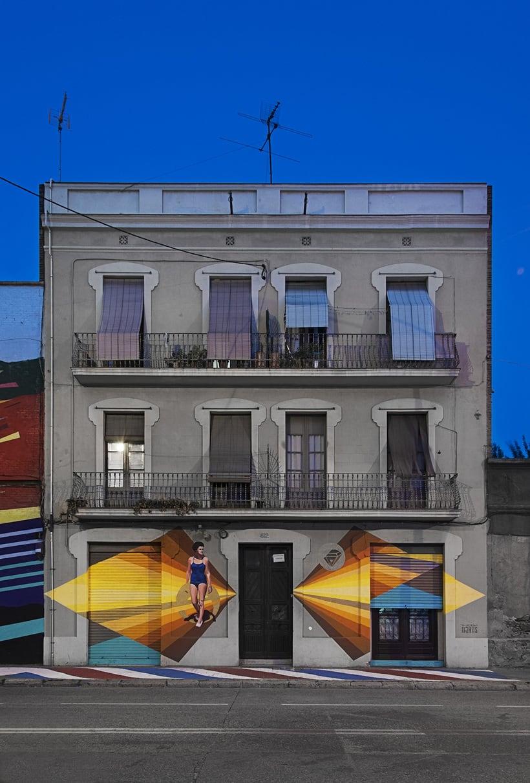Arquitectura & Arte urbano en Barcelona 0
