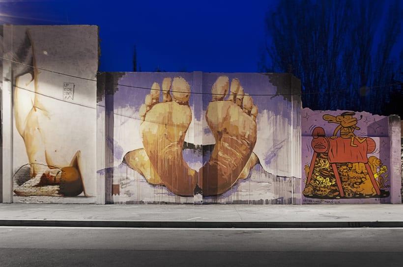 Arquitectura & Arte urbano en Barcelona 1