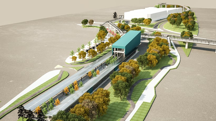 Renders para proyecto BRT -1