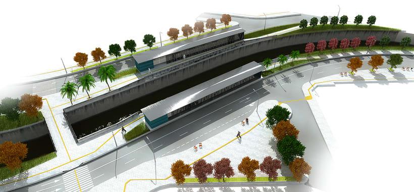 Renders para proyecto BRT 0
