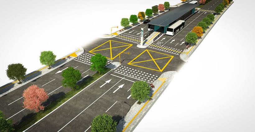 Renders para proyecto BRT 1