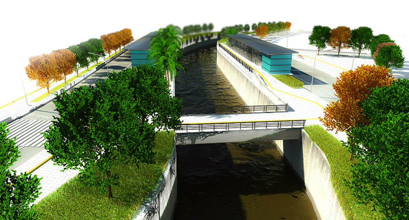 Renders para proyecto BRT 2
