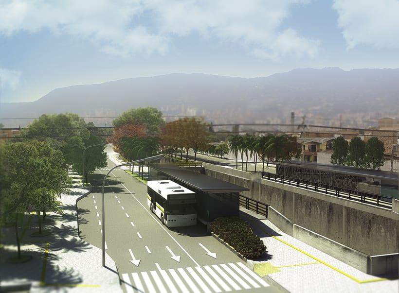 Renders para proyecto BRT 3