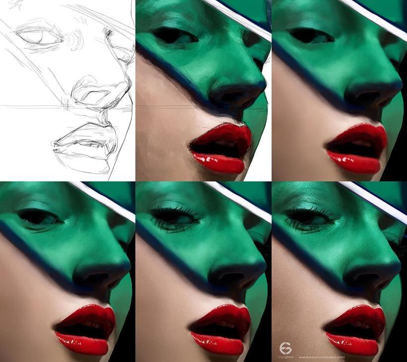 Fotorrealismo e ilustración de la mano de Edgar Gómez 6