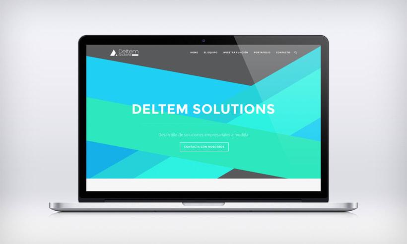 WEB DESIGN FOR DELTEM SOLUTIONS -1
