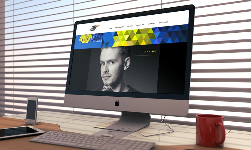WEB DESIGN FOR PETER ADAM SMITH 3