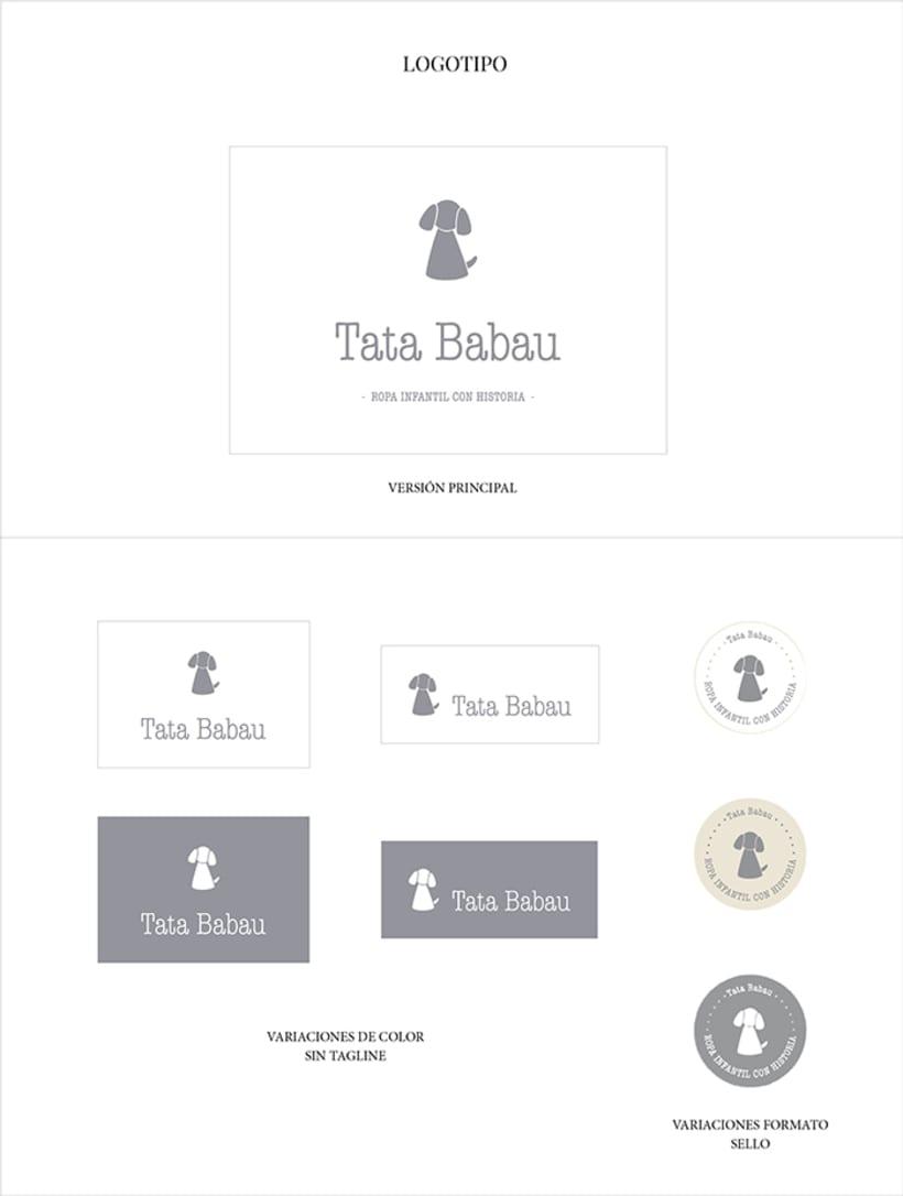 PROYECTO DE MARCA COMPLETO | Tata Babau 0