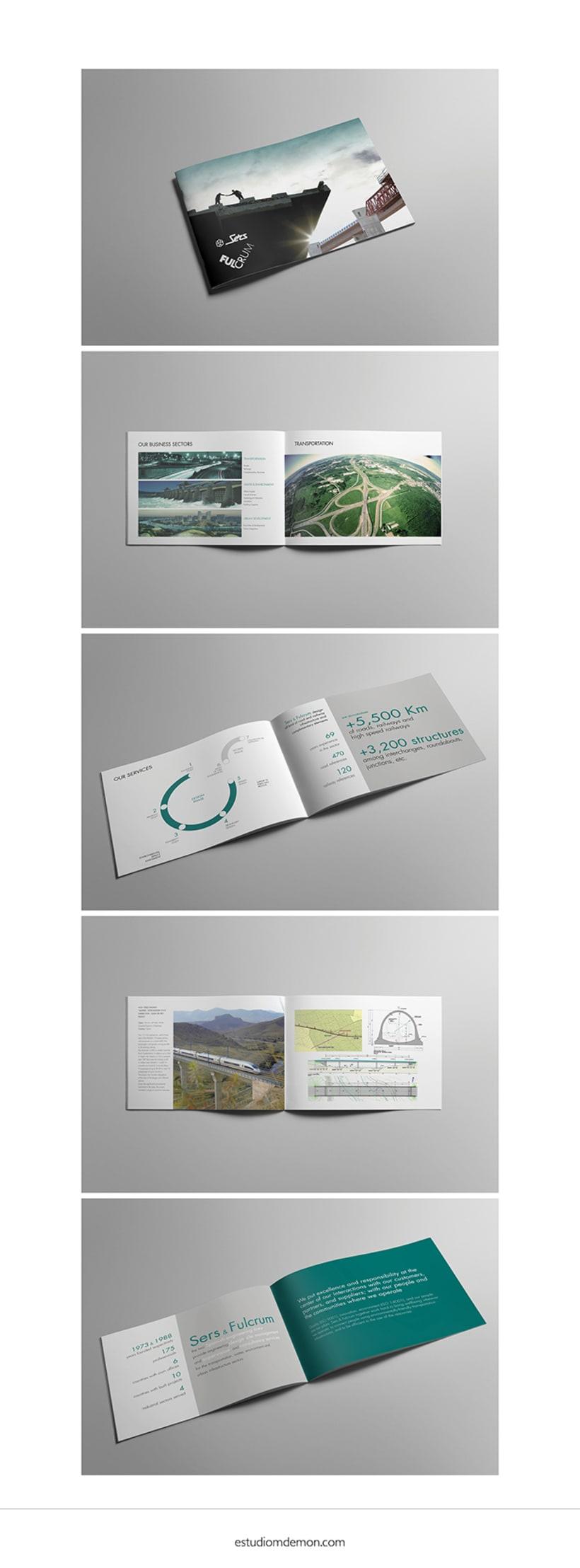 DISEÑO DE PRESENTACION CORPORATIVA | Sers & Fulcrum, ingenierías -1