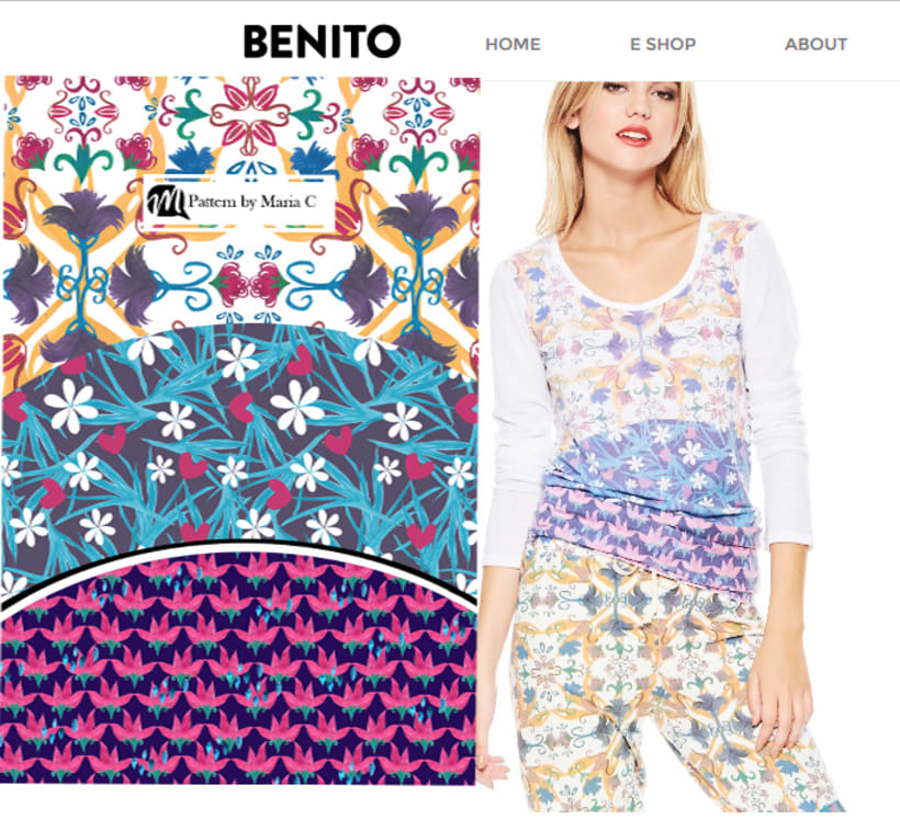 estampas / remeras y vestidos by benito 7