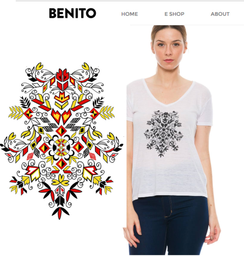 estampas / remeras y vestidos by benito 8