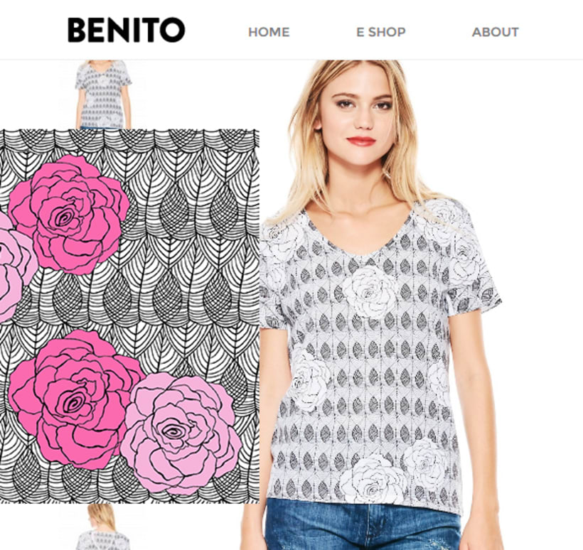 estampas / remeras y vestidos by benito 13