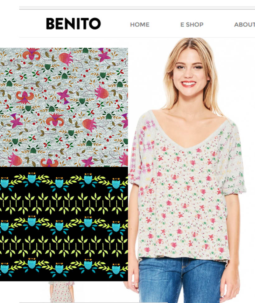 estampas / remeras y vestidos by benito 16