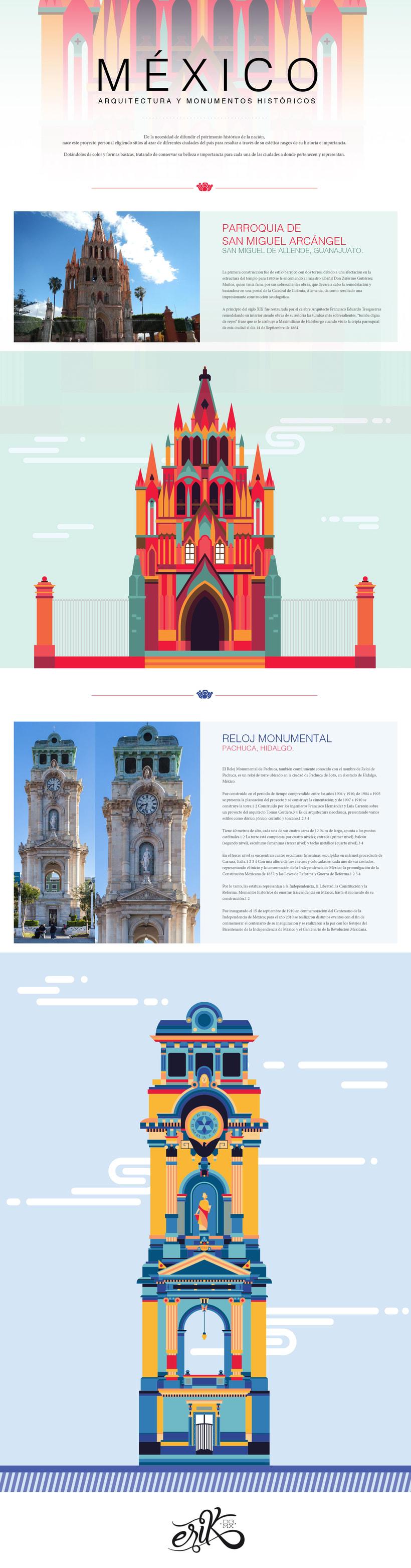 México, arquitectura y monumentos II -1