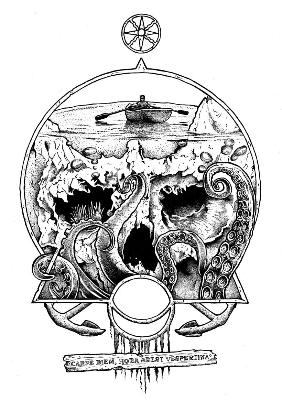 "Fanzine CULO. ""go to skull II"". Carpe Diem. -1"