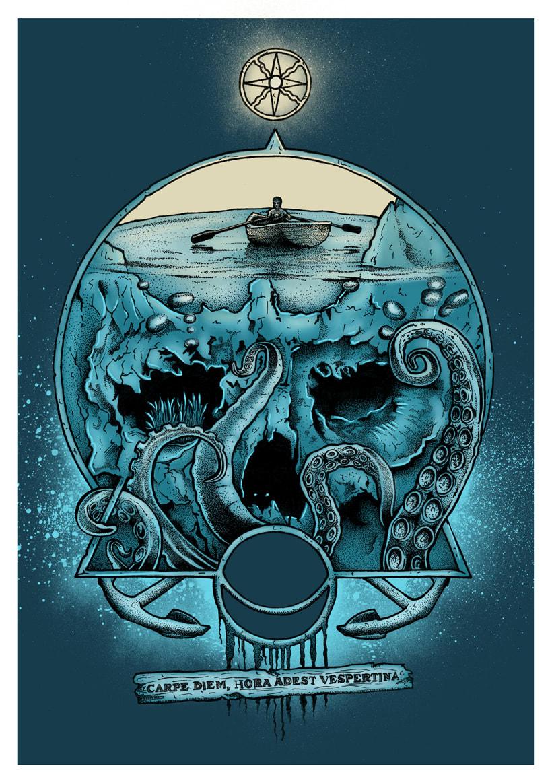 "Fanzine CULO. ""go to skull II"". Carpe Diem. 0"