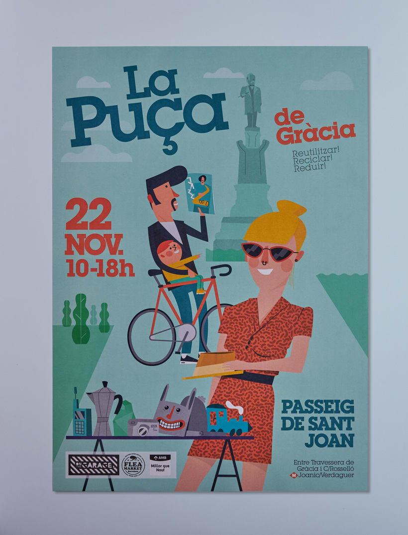 Cartel Flea Market, Gracia -1
