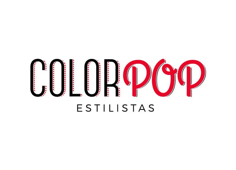 ColorPop Estilistas - Diseño Logotipo y Decoración  1