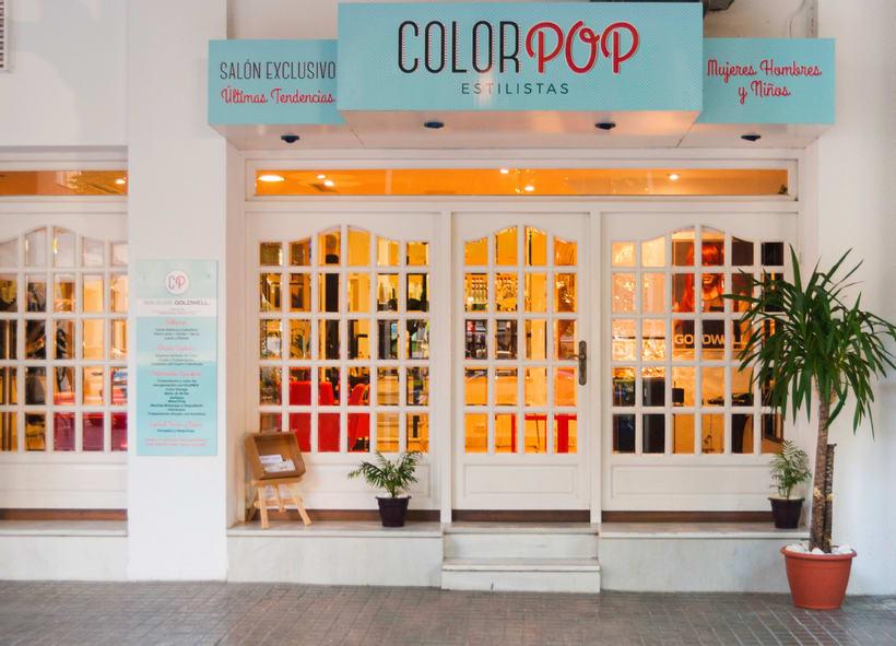 ColorPop Estilistas - Diseño Logotipo y Decoración  4