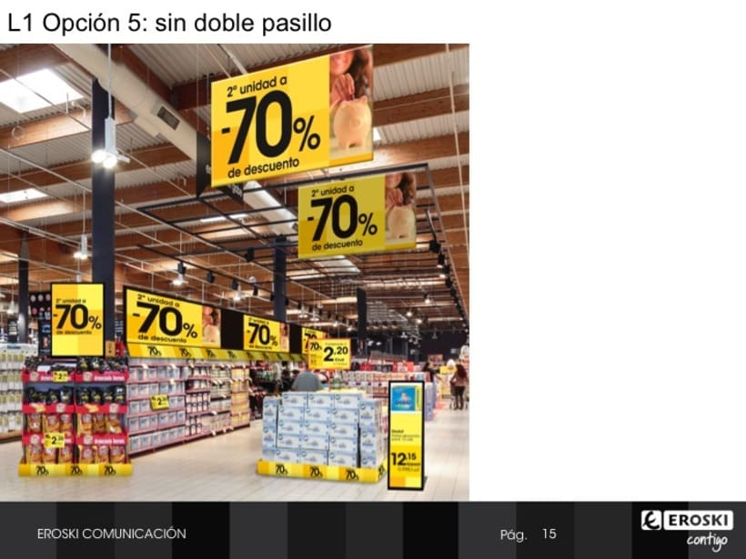 Presentación visibilidad precio en pdv 7