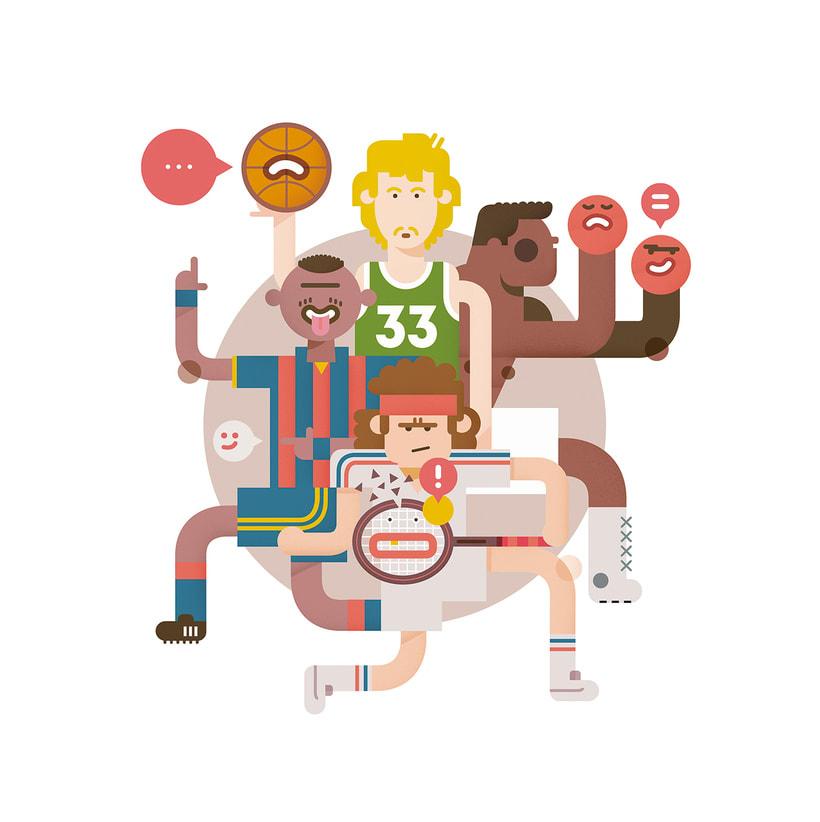 Del Hambre, el alucinante ilustrador en cuerpo de hombre 22