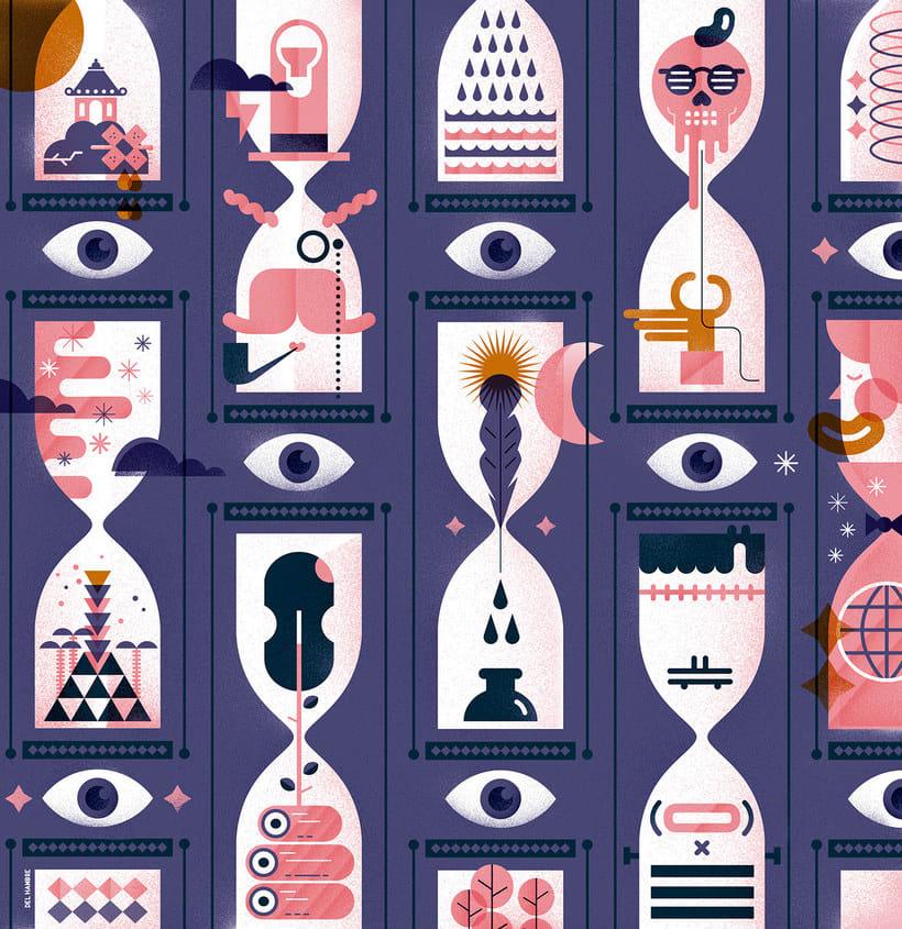Del Hambre, el alucinante ilustrador en cuerpo de hombre 23