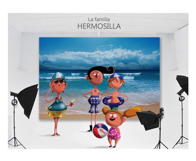 """""""La Familia Hermosilla"""" 5"""
