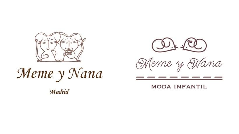 Rediseño logotipo Meme y Nana 0