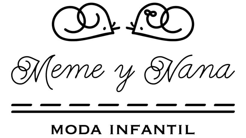 Rediseño logotipo Meme y Nana 1