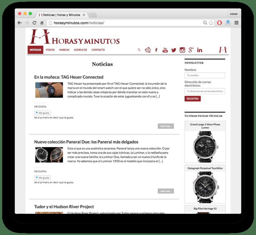 Horasyminutos.com - La web de los relojes de lujo - precios y comentarios 2