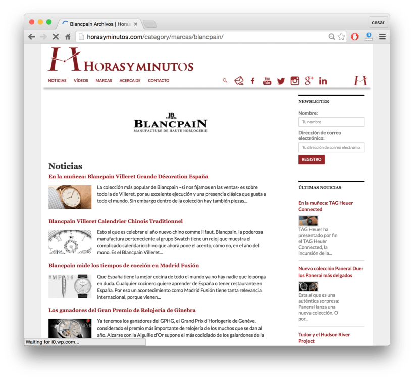 Horasyminutos.com - La web de los relojes de lujo - precios y comentarios 4