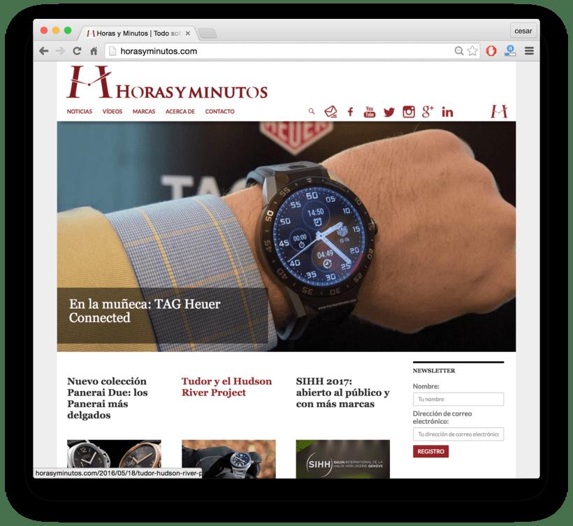 Horasyminutos.com - La web de los relojes de lujo - precios y comentarios 0