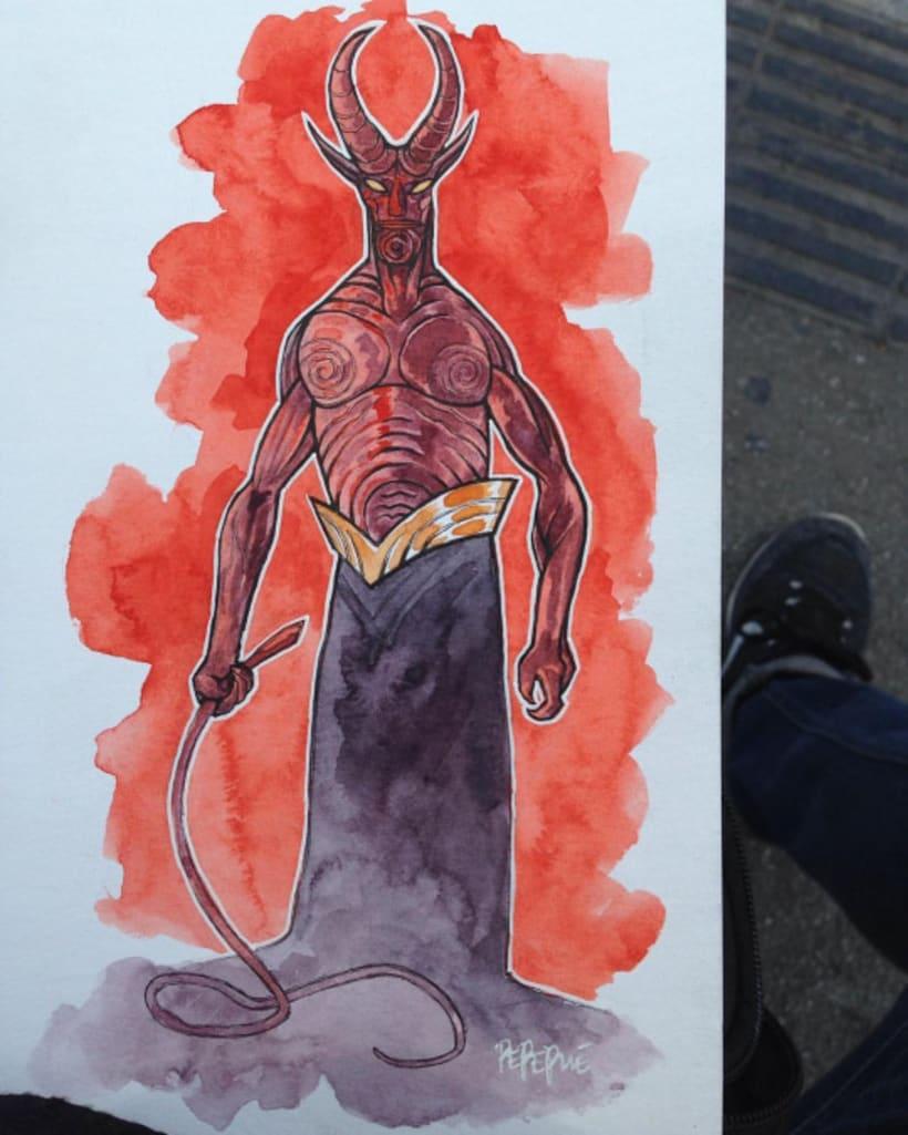 Hellboy by pepepue 8