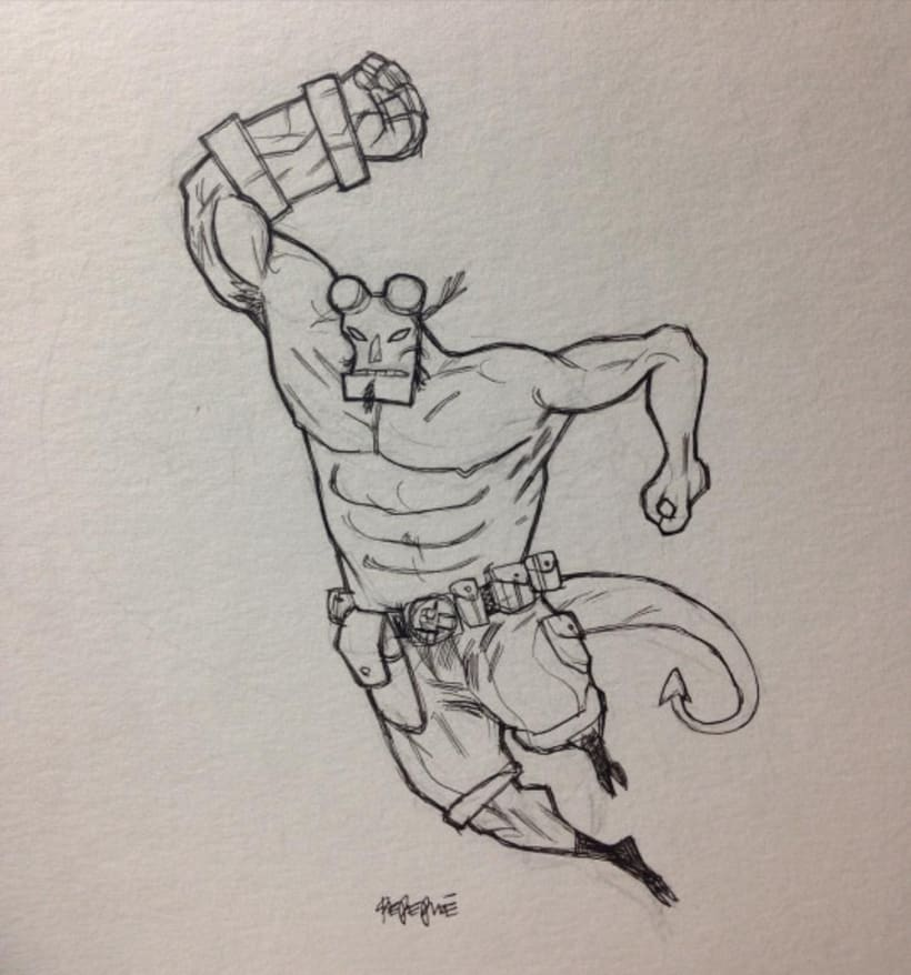 Hellboy by pepepue 11