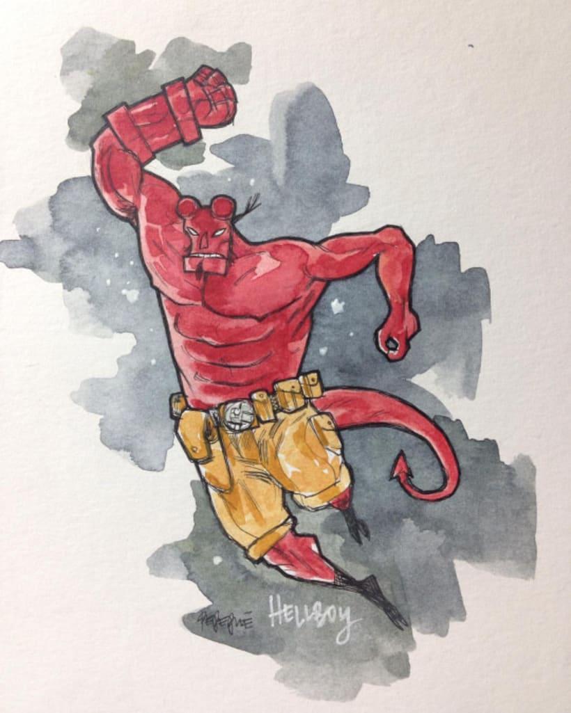 Hellboy by pepepue 10
