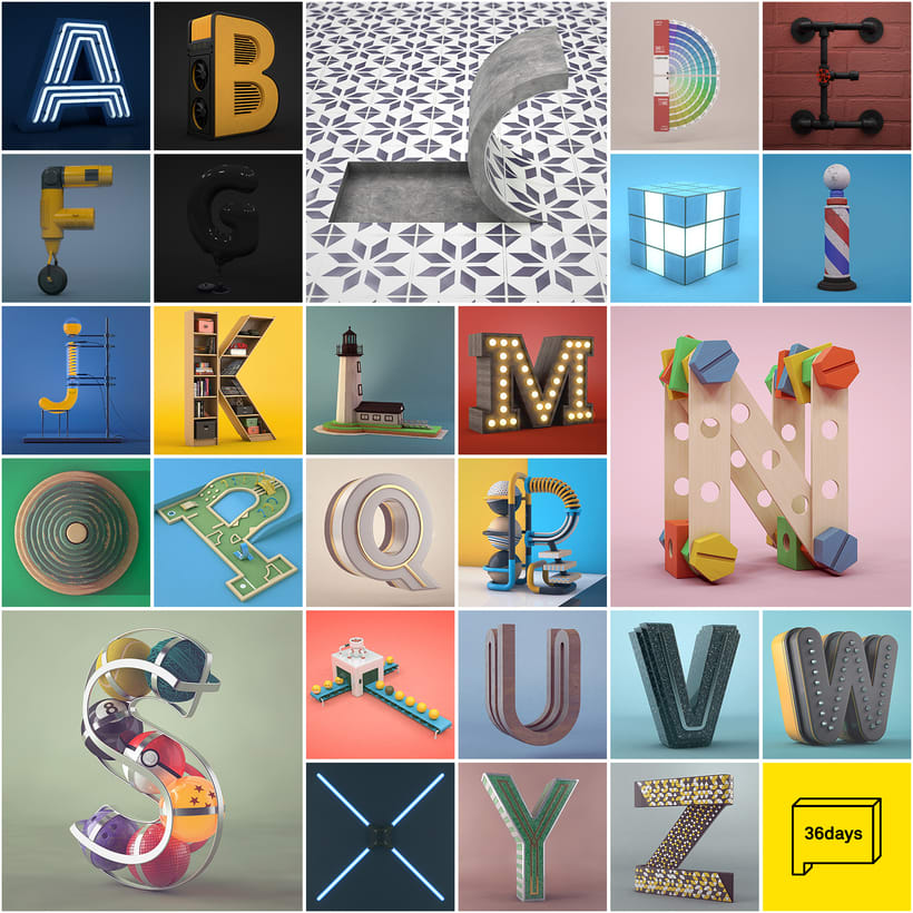Alfabeto | 36 Days of Type 0