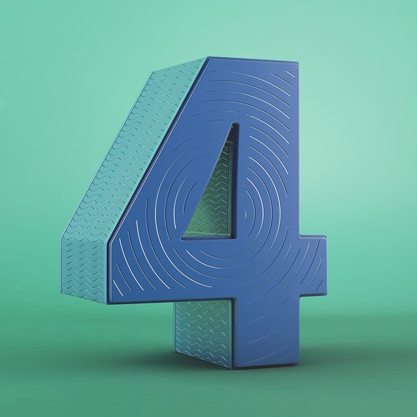 Números | 36 Days of Type 03 4