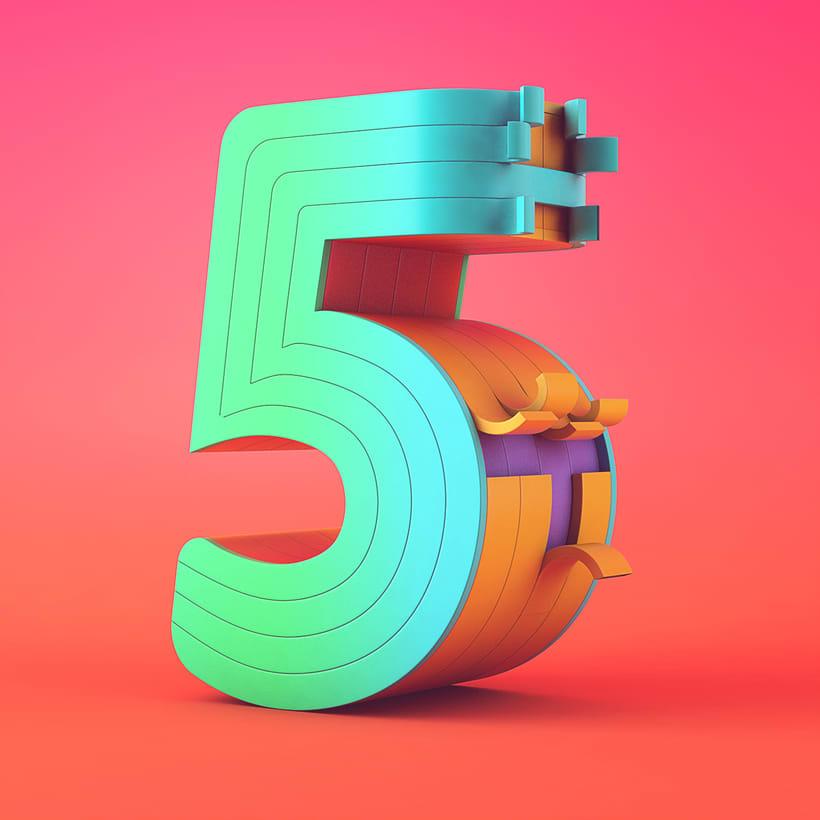 Números | 36 Days of Type 03 5