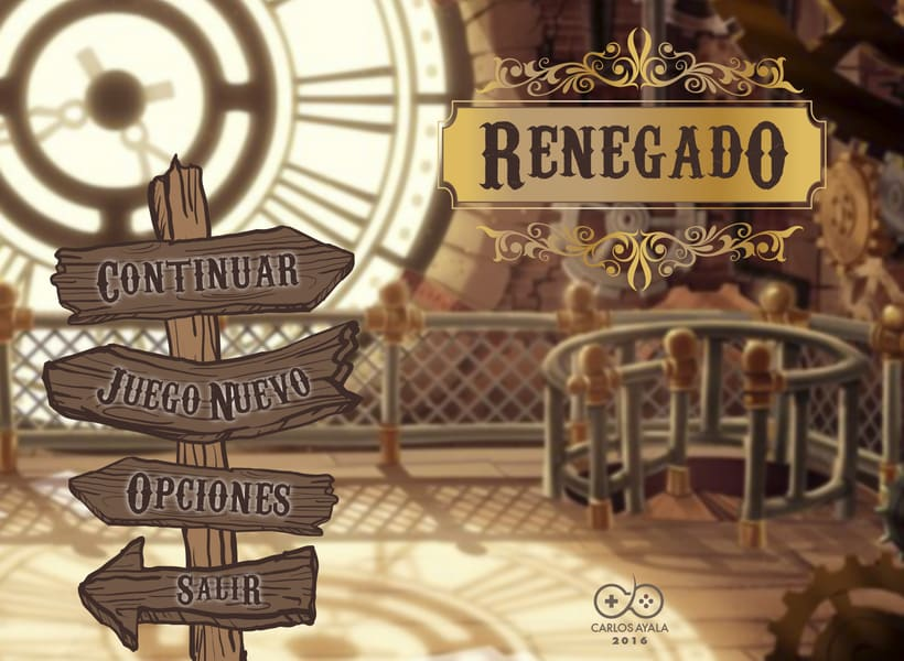 UIX Design - Renegado, Game Interface 5