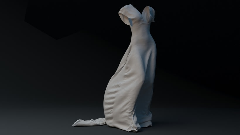 WHITE NIGHT DRESS· Proyecto Visual 3D 1