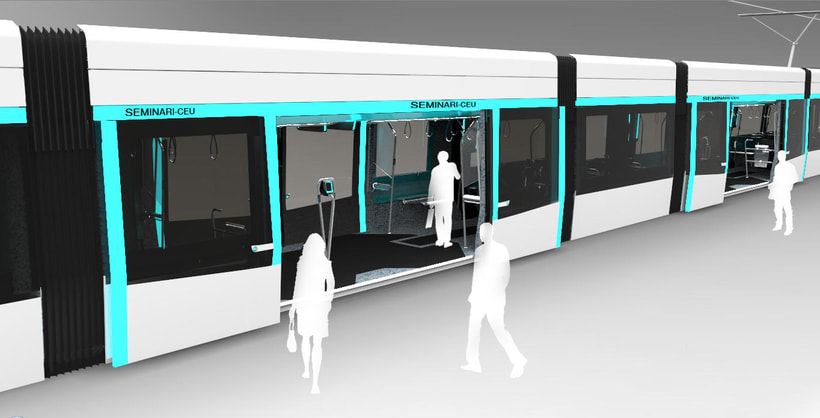 Tranvía 3D 1