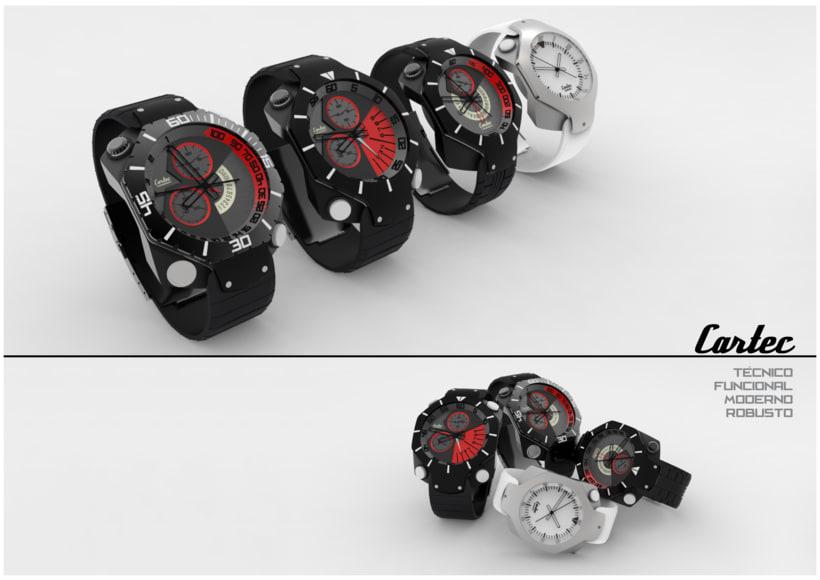 Relojes Cartec -1