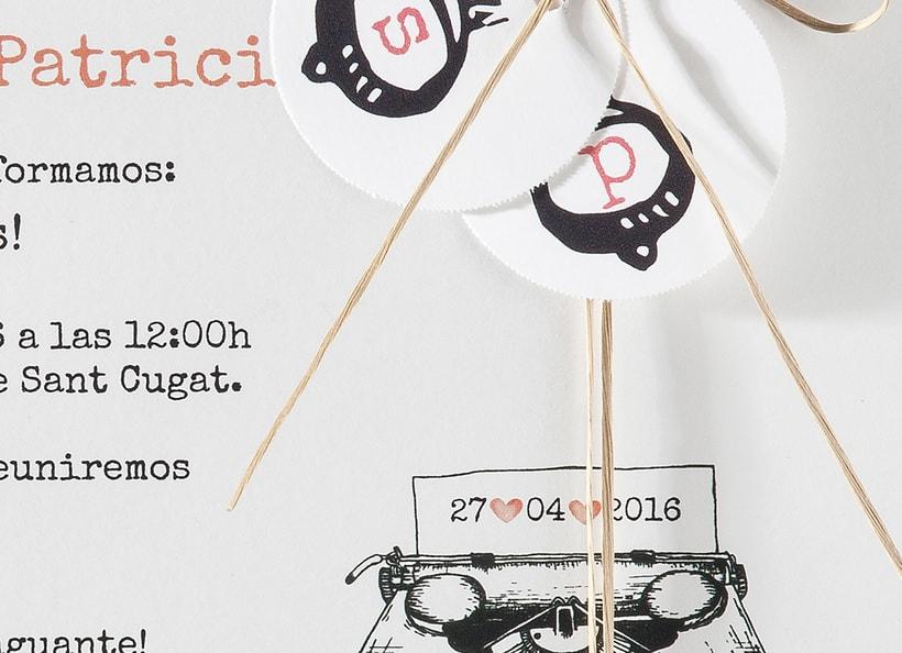 Diseño de invitaciones de boda. 4