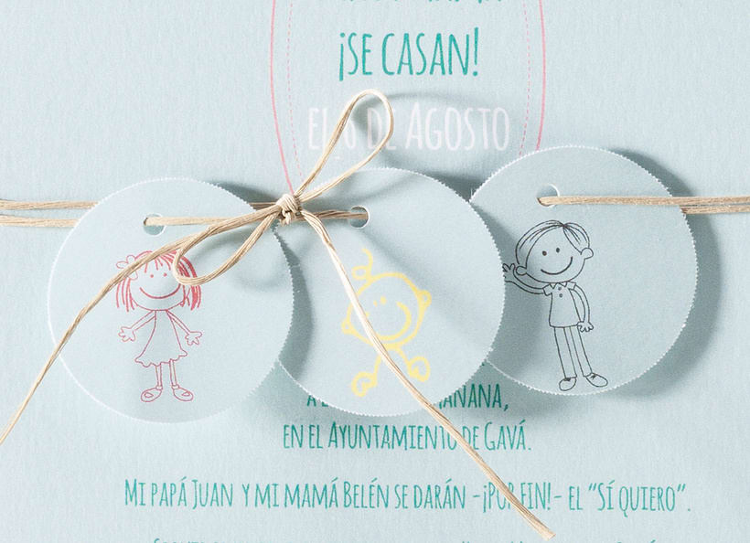 Diseño de invitaciones de boda. 15