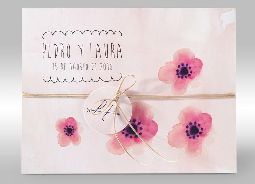 Diseño de invitaciones de boda. 17